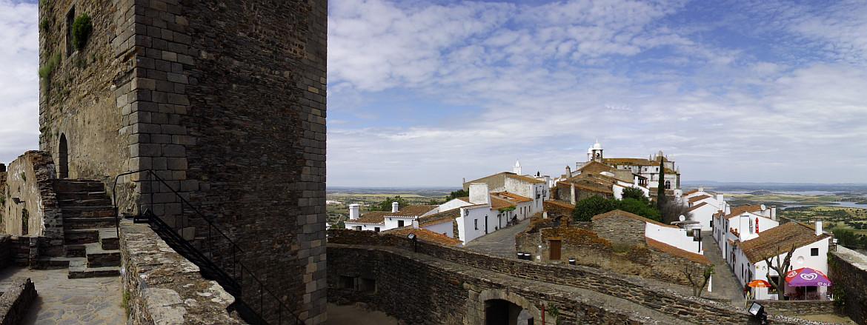 Portugal castle town